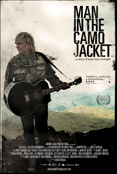 Man In The Camo Jacket - Film Poster - Kaleidoscope Pictures